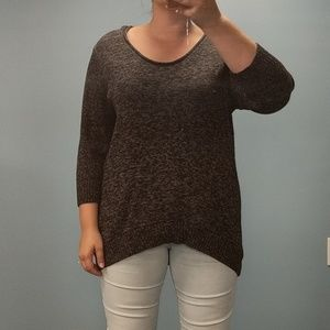 Kenneth Cole Black Marked Sweater, size 2X